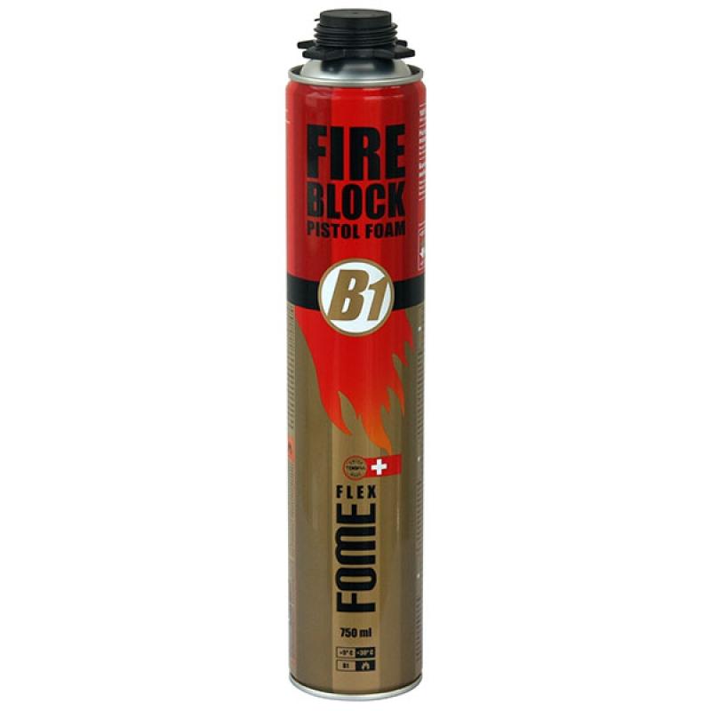 монтажная пена FOME FLEX Fire Block Pistol Foam