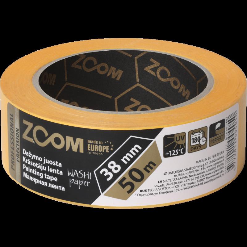 Профессиональная маскирующая лента, 38 mm x 50 m, PRECISION, ZOOM