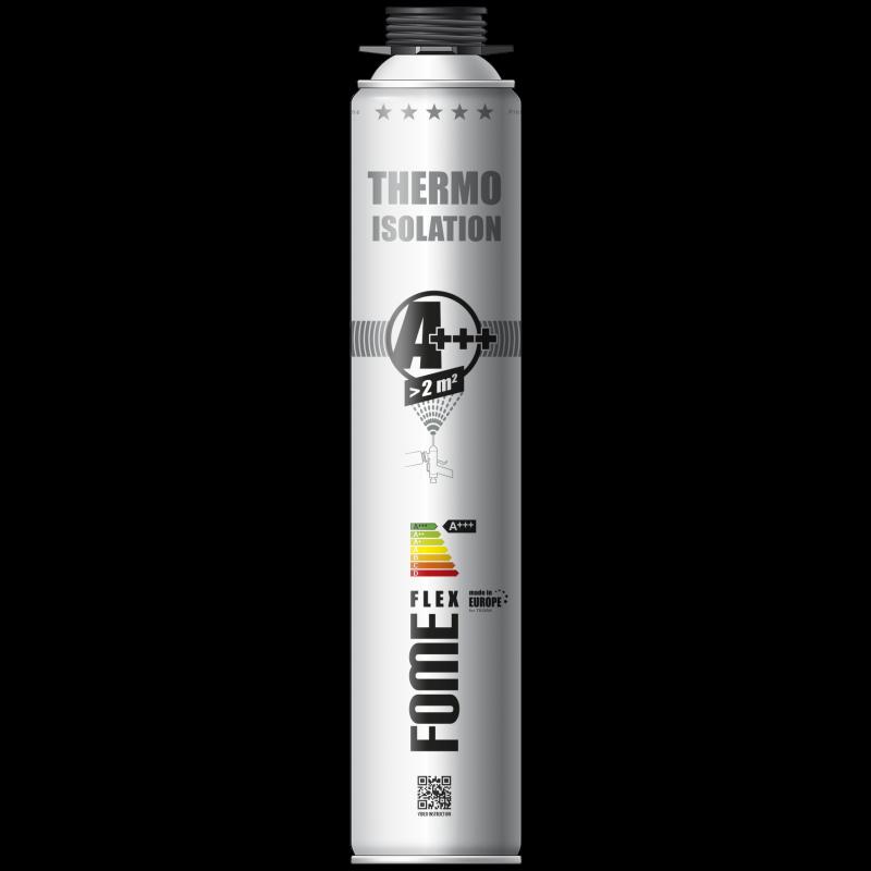 Напыляемый утеплитель Fome Flex Thermo Isolation A+++