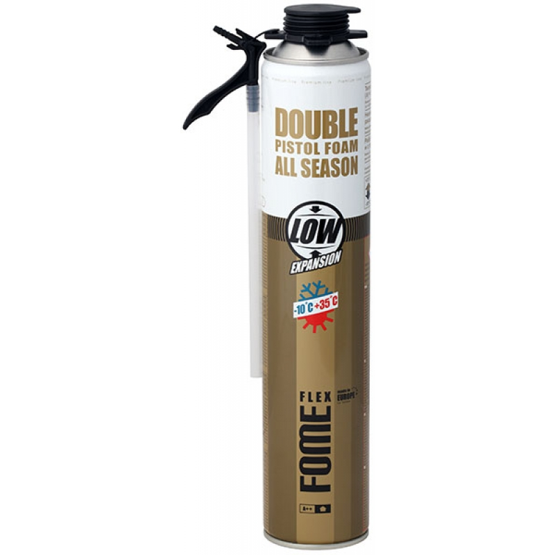 Пистолетная пена FOME FLEX Double Pistol Foam, 750ml