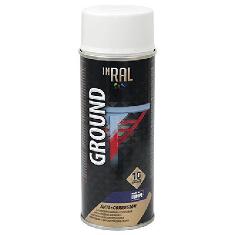 Аэрозольная антикоррозийный защита INRAL GROUND ANTI-CORRSION