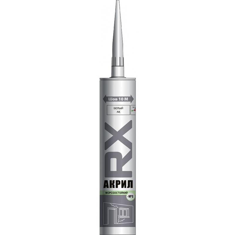 Акриловый герметик RX, белый, 280мл