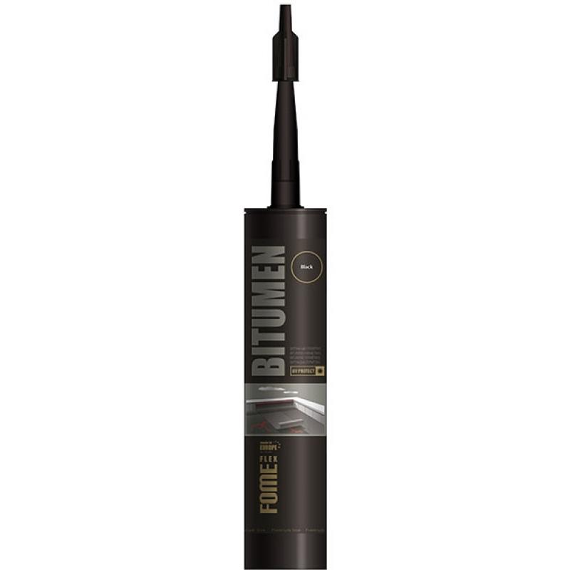 Герметик битумный черный, Bitumen Fome Flex, 300мл